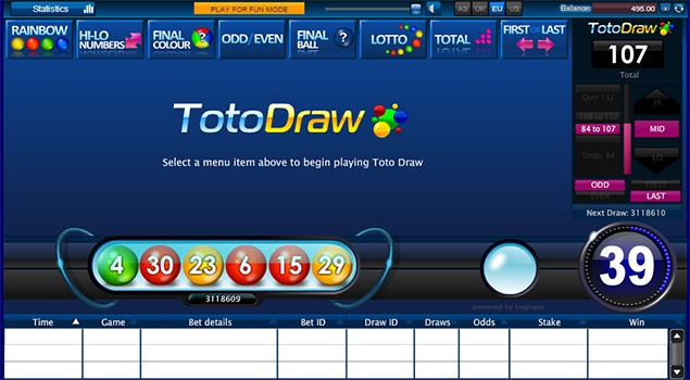 How to Play Toto Draw on SBOBET